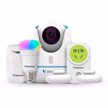 smart home kits E27 720P hd ip camera wireless wireless security camera