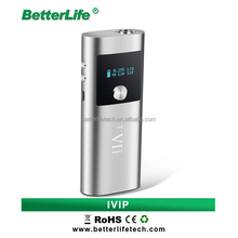 Bullvapor high end box mod E cigarette IVIP 35W Ladies electronic cigarette