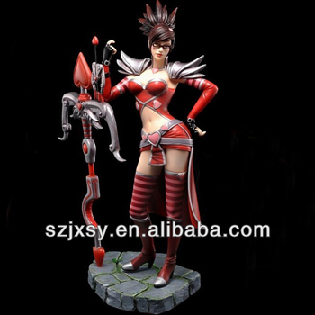 League Of Legends Game Character Vayne Prototype