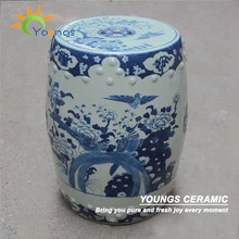 Luxury Chinese Antique Hand Painted Porcelain Garden Stools