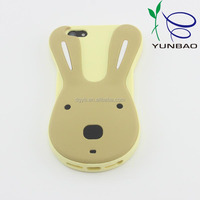 genuine silicone material candy rabbit bar phone case for universal phones
