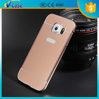 2015 Newest aluminium metal bumper mirror phone cases for samsung galaxy s3 i9300