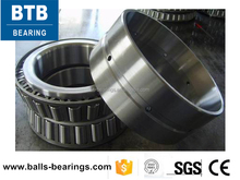 Full speed plastic machine metric size double row tapered roller bearing 352028