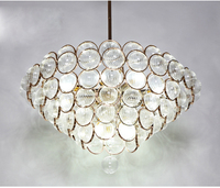 New promotion drum shaped hotel villa big chandelier pendant lighting with certificate