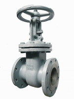 Flange type gate valve of high quality for public works