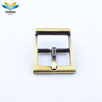 Factory manufacture best wholesale metal gold small shoes buckles