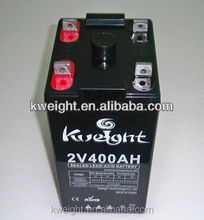 Excellent solar battery 2v 400ah gel battery with long warranty