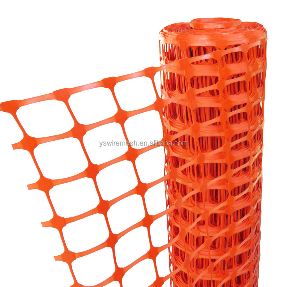 Top Quality Plastic Fence Netting for Debris, Safety, Boundary and Snow Fencing