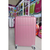 Hot sell ABS luggage with spinner, hard shell luggage
