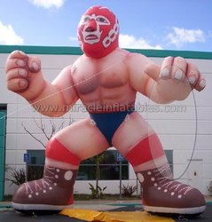 Giant inflatable man,muscle man model for sport C3006