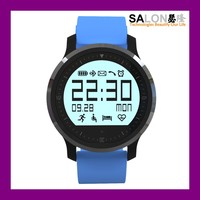"2016 Factory Price 1"" Black-and-White Screen round screen smart watch mobile phone,bluetooth smart watch"