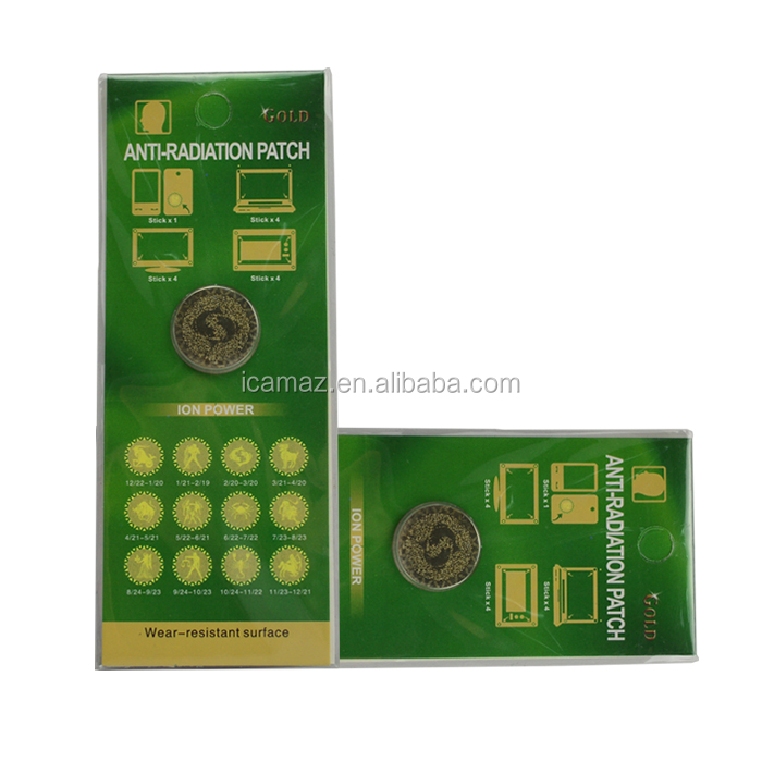 Mobile Phone Anti radiation sticker for your health , OEM/LOGO