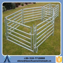 China Manufacturer Livestock/Corral Rail Fence with Exquisite Craftsmanship
