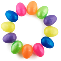 Plastic Toy Capsule Easter Egg for Candy or Toy