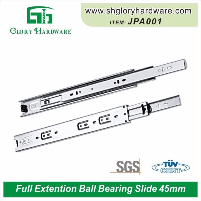 table slide, table slide rail, telescopic slide for table