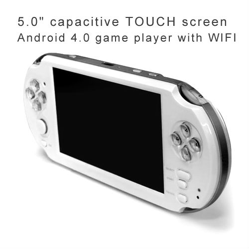 5.0 inch pmp dv mp4 mp5 player with android 4.0 OS