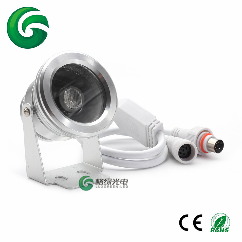 IP65 RGBW 4in1 1*8W, 3*8W, 5*8W led outdoor garden light with 3 years warranty