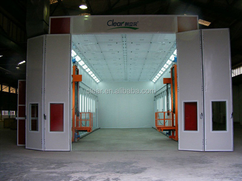 Truck Spray Booth with Heating and Baking System