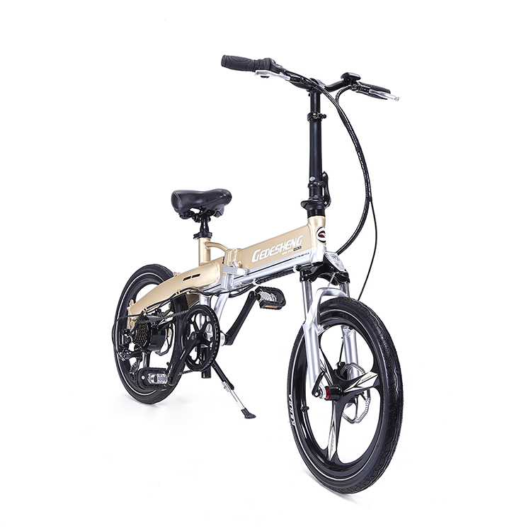 Peerless Bike 20 24 26 Inch Full Suspension Portable Mtb One-second Beach Cruiser Bicycle Folding
