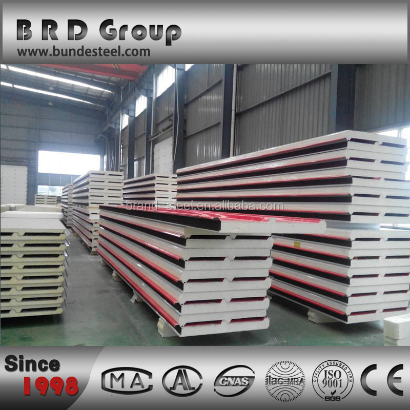 Prefabricated Roof Panels Pu Roof Sandwich Panel Buy