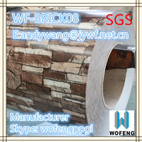 Prepainted stone color coated Galvanized Steel Coil for wall panels