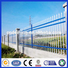 high quality security system steel fence