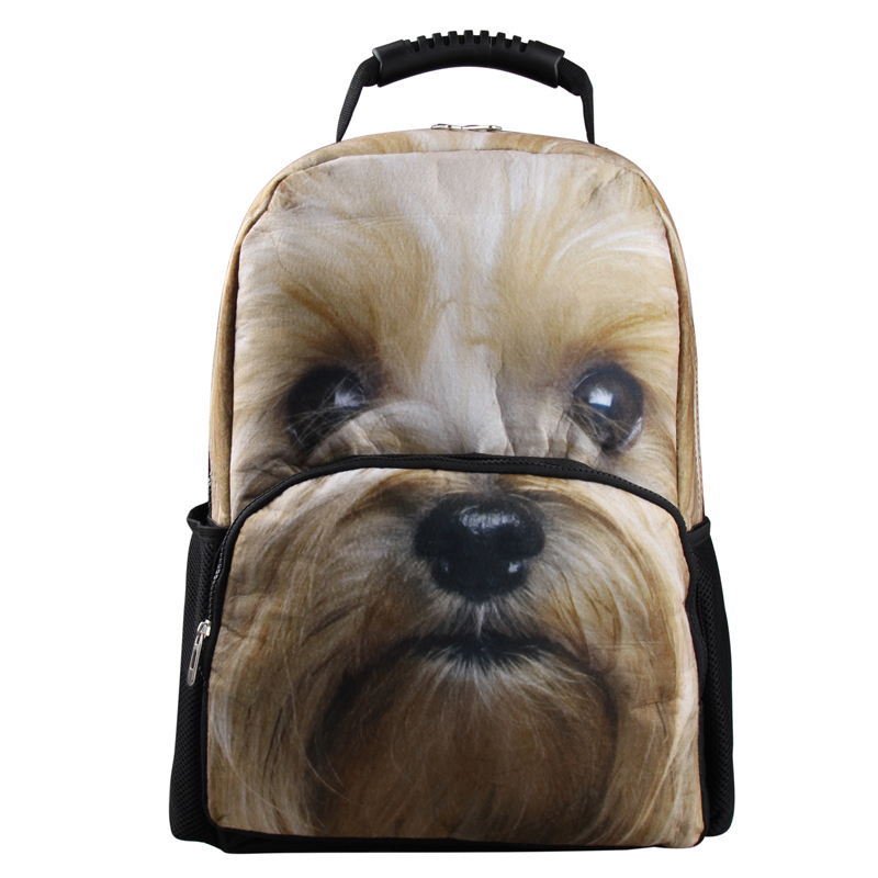 Buy Vn Lovely Dog Backpack 3d Animal Felt Backpack School Backpacks