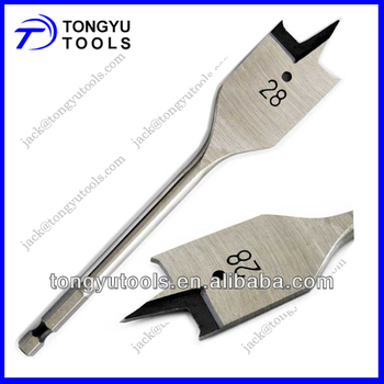 High Carbon Steel Flat Drill Bit For Wood Working