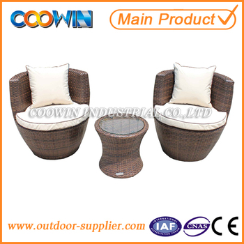 High Quality Aluminum Frame PE Rattan Outdoor Furniture