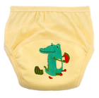 Modern washable infant toddler organic cotton leak-free panties undies custom baby eco-friendly walking training underwear