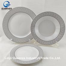 Linyi Queenza 18 pcs ceramic dinnerware sets