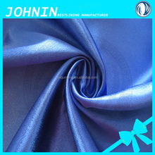 shaoxing textile shining spandex satin fabric 100% polyester plain dyed satin fabric for wedding decoration satin fabric