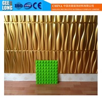 High quality fashionable 3d wall decor panels 3d board used for Club decoration