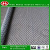 galvanized steel mini chain link fence black mesh