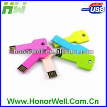 Colorful AL Metal Key Usb Memory Chip Business Give-away