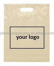 Your Logo Recycle Die Cut Custom Printed Plastic Shopping Bag