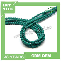Wholesale 4mm gemstone turquoise beads jewelry making raw material