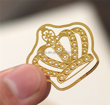 Crown Shaped Paper Clips Metal Bookmarks