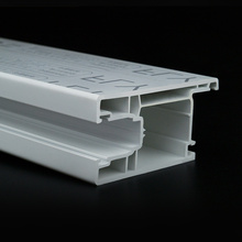 extruded upvc profile for window and door plastic profile