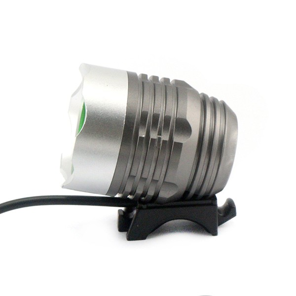 Waterproof LED Bike Light Rechargeable Set - LED Bright HeadlightEasy to Mount, No Tools Needed18650 4800mah Batteries Included