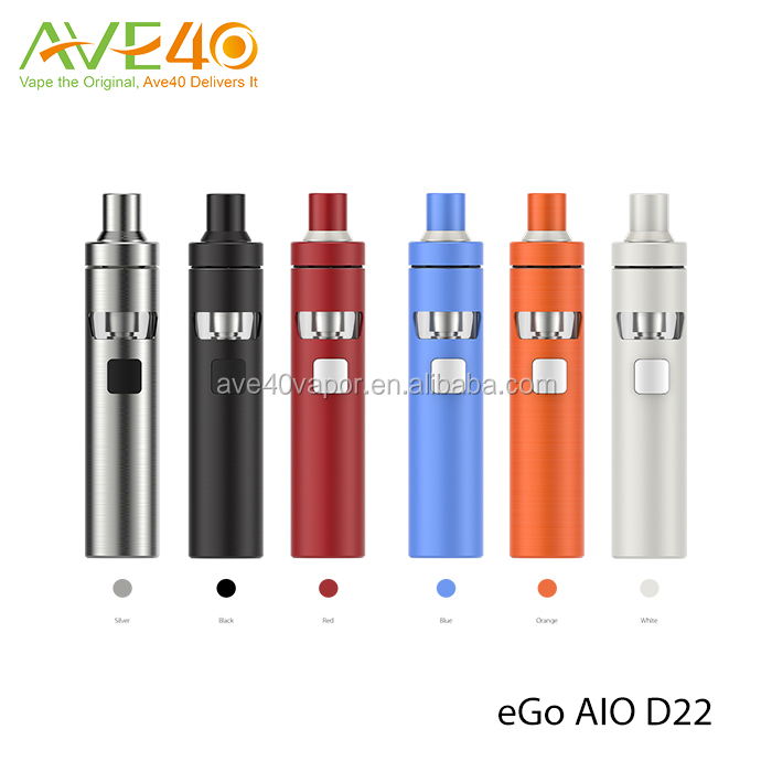 Ave40 Wholesale price Diameter 22mm Joyetech ego aio D22 starter kit, Capacity 2ml ego aio D22 starter kit, Joyetech ago aio