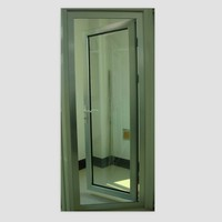 Elegant Aluminum French Door Interior Glass