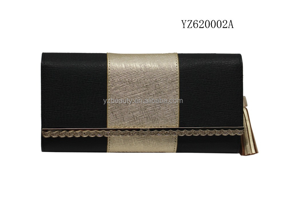 Metal strip popular new style excellent quality wallet