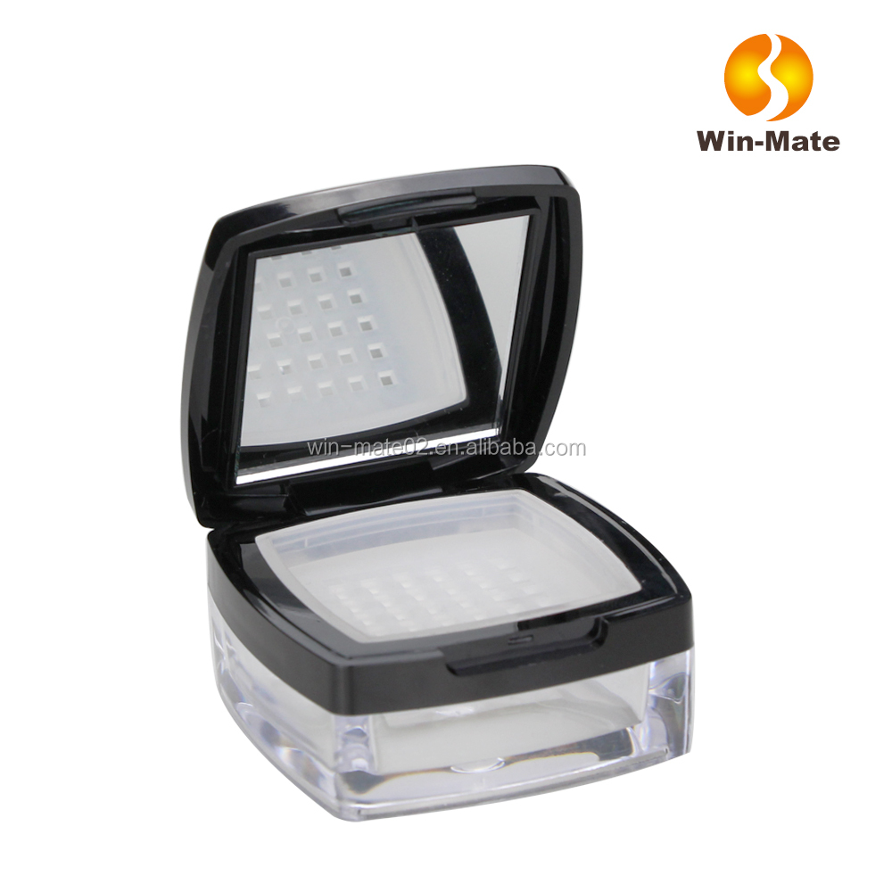 Injection color ABS professional empty makeup compact