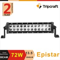 Hot selling 72w motorcycle led light bar led off road headlight