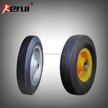 "wheel barrow solid rubber tire 6"" 7"" 8"" 10"" 13"" 14"" 15"""