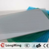 china price hot sale manufacture multi-wall polycarbonate glazing sheet
