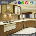 china flat pack homes customized design used laminate kitchen cabinet