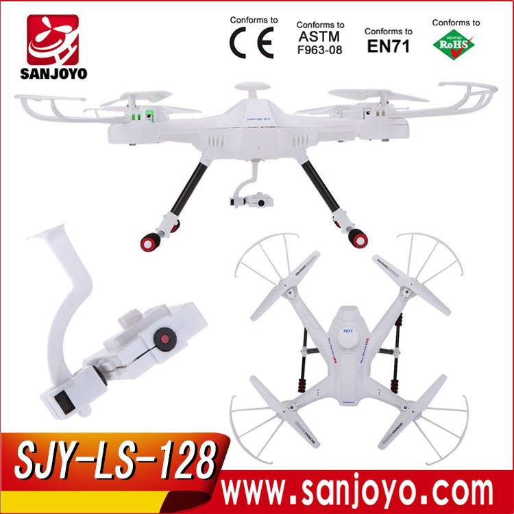 Headless Mode SKY Hunter 2.4G 4CH 6-axis Gyro Real-time RC FPV Quadcopter Drone SJY-LS-<strong>128</strong>