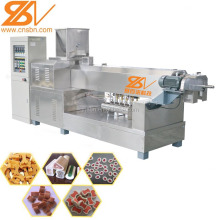 Industrial pet dog food treats making machine/ Dog twist bone machine